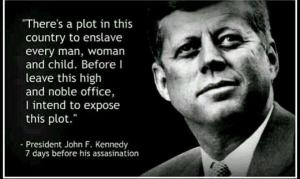 kennedy was to expose plot
