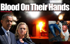 blood on their hands benghazi
