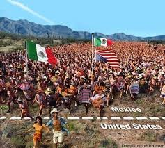immigrants crossing border