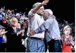 McCain hUGGING sOROS oH THANK YOU FOR SAVING ME