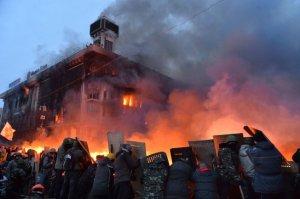 ukrain burning trade union