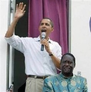 Obama rallied blood thirsty Muslims while a U.S. paid Senator for his Sharia Cousin Odinga