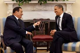President Mubarak Of Egypt Befriended By Obama Before Ousting Him