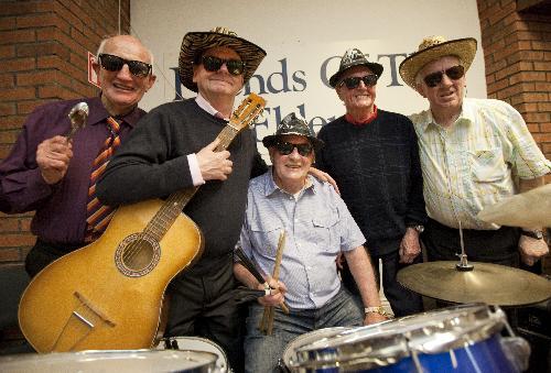 elderly musicians