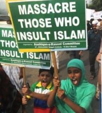 massacar insult islam