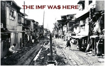 poverty the IMF was here